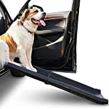 """Alpha Paw Car Ramp for Large and Small Dogs, for SUVs, Cars, and Trucks, Compact, Foldable, and Lightweight, Portable Outdoor Pet Ramp for up to 200 lbs (60"""" x 14"""" x5"""")"""