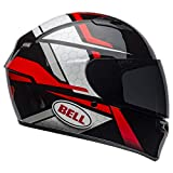 Bell Qualifier Street Helmet (Flare Gloss Black/Red - Small)