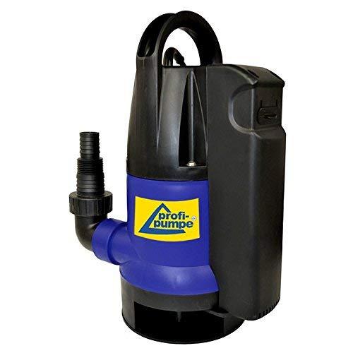 AMUR Schmutzwasserpumpe Tauchpumpe Dirt-Star-Extra-SS 400-2 als Gartenpumpe zum Bewässern und als Kellerpumpe zum Entwässern mit integriertem Schwimmerschalter, 10m Kabel