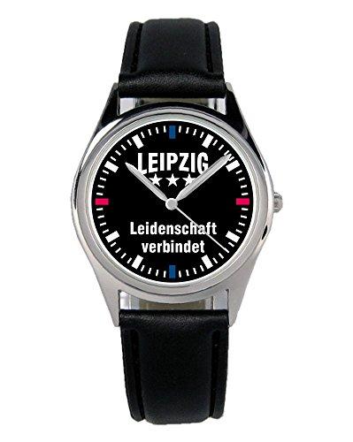 Leipzig Geschenk Artikel Idee Fan Uhr B-2309