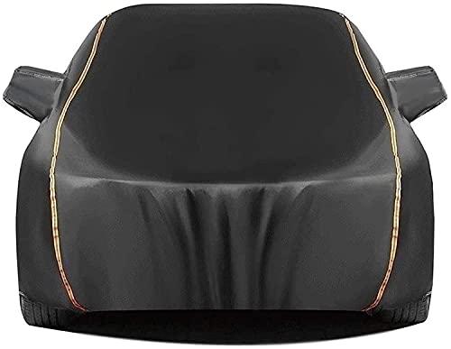 Fundas para Coche Compatible con Fiat Barchetta, Exterior Automóviles Cubierta Tarpa de Coche Todo Clima Impermeable y Anti-UV de Oxford con Tiras Reflectantes