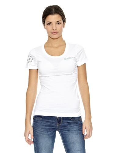 Mercedes AMG Petronas Damen T-Shirt Womens Fan Tee, Weiß, L