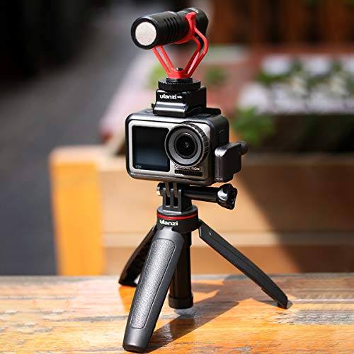 UlanziGoPro専用自撮り棒セルカ棒3段伸縮3way自撮り棒+伸縮一脚+三脚GoProhero9876/GoProMAX用DJIOSMOACTION/OSMOPOCKET用アクションカメラvlogアクセサリー