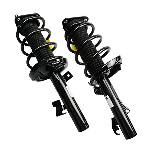 Shoxtec Front Pair Complete Sturt Assembly Replacement for 2004-2013 Mazda 3; 2006-2010 Mazda 5 Coil Spring Assembly Shock Absorber Repl. 172263 172264