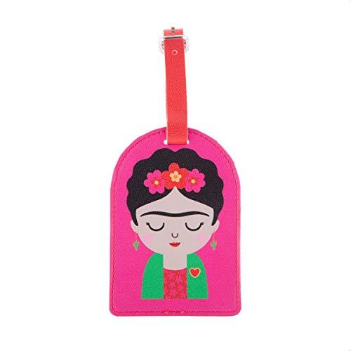 Sass & Belle Etiqueta de equipaje Frida