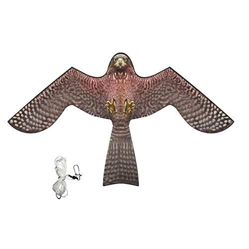 househome Vogelscheuche Vogelabwehr, Adler Drachen Vogelabwehr Vogeldrachen, Raubvogel Drache Für Vogelscheuchen Bird Repellent Windmill, Taubenabwehr Und Gartendeko