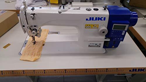 Máquina de coser industrial DDL 7000A de Juki, cortadora de hilos, totalmente automática, máquina de coser industrial, completa (con mesa y soporte)