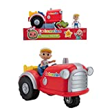 image of JJ tractor musical toy from the Cocomelon brand for preschoolers, one of our picks of present for 2 year old