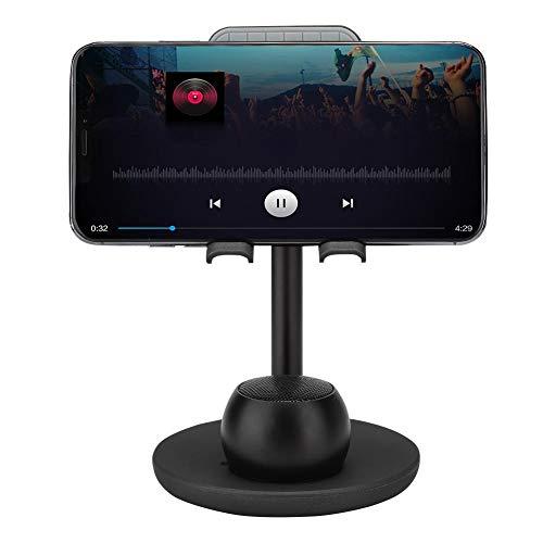 Mobiele telefoonbeugel met luidspreker, draagbare draad Oplaadbare handsfree Gsm-clip Houd Bluetooth-luidspreker Stereosysteem Ingebouwde 600 mAh Batterij Lange tijd standby