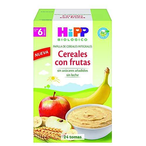 HIPP Cereales con Frutas 600GR, Negro, Estándar