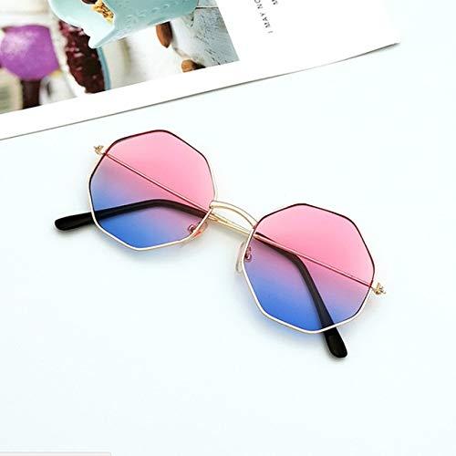 xingxing Gafas de sol redondas de plástico para mujer, estilo retro, con montura de gafas de sol de plástico (marco de 3)
