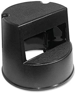2-Step Plastic Step Stool with 350 lb. Load Capacity