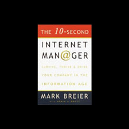 The 10-Second Internet Manager audiobook cover art