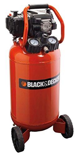 BLACK+DECKER 1803 Compressore Verticale, 50 litri