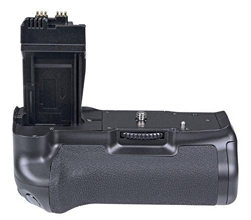 Khalia-Foto Meike Batteriegriff für Canon EOS 550D 600D 650D 700D wie BG-E8 in Originalqualität Powerpack mit Hochformatauslöser und vielen Funktionen (Hochformatgriff/Akkugriff)
