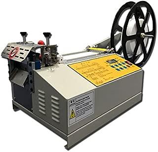 Heat Pipe Cutting Machine Fully Automatic Tube Cutting Machine with A Nickel Slicer 0.1-95mm Cutting Width (110V)