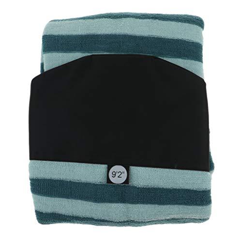 B Blesiya Funda de Tablas de Surf con Cordón Ajustable - Verde, 9.2 pies