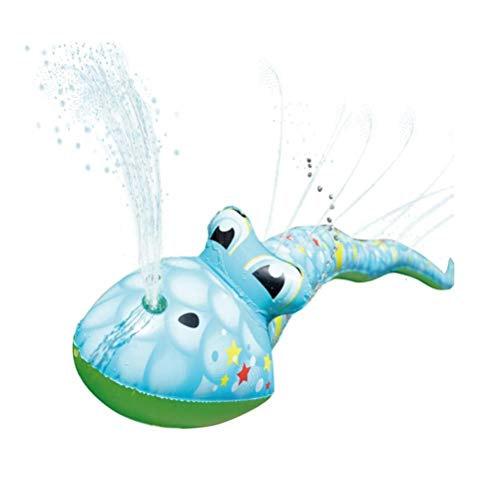 Akemaio Inflable de la Serpiente de Agua de riego Juguetes del Juego del Agua de riego Divertido al Aire Libre Spray Serpiente del Juguete de Agua de riego del Juguete para los niños