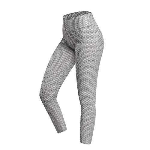 HOOJUEAN Mallas Pantalones Deportivos Leggings Mujer Yoga de Alta Cintura Elásticos y Transpirables Control de Barriga para Yoga Running Fitness con Gran Elásticossmall-D
