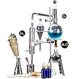 JIXIN Aparato De Destilación, Dispositivo De Destilación para Destilación, (500 Ml)
