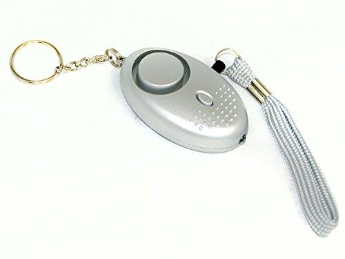 lauter Personenalarm 120dB - Personen-Body-Alarm-Sirene-Hilferuf - Mobile Alarmanlage zur Personensicherheit mobile Alarm-Anlage Alarmsystem für die Hosentasche als Bodyguard mit LED