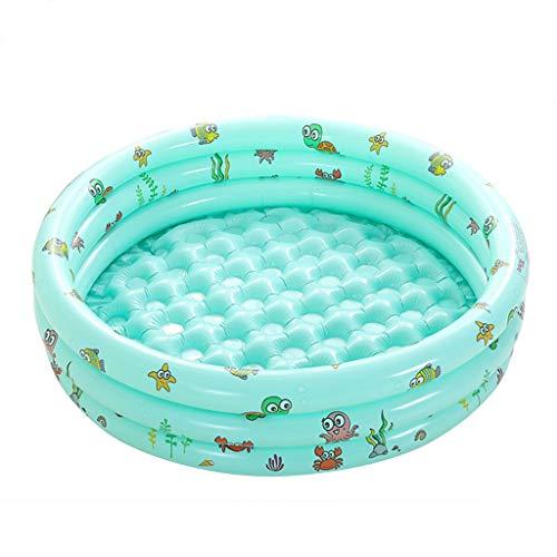 Rond Opblaasbaar Zwembad 3 Ringen Huishoudelijke Baby Slijtvaste Dikke Multifunctionele Marine Ballenbad - 120x30cm