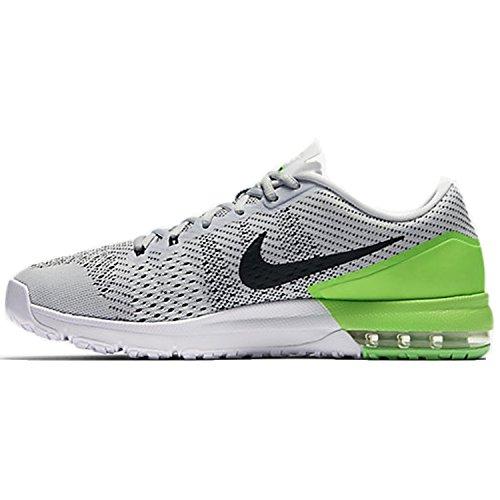 Nike Herren air max typha Wanderschuhe, Plateado (Plateado (Pure Platinum/Black-Rage Green-White), 42 EU