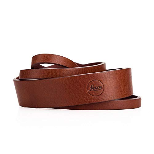 Leica Q-P Brown Leather Carrying Strap