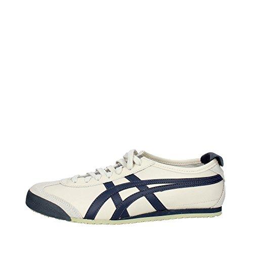 Onistuka Tiger Mexico 66 Unisex-Erwachsene Sneakers, Weiß (birch/india Ink/latte 1659),49 EU