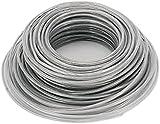 ZGHBZZY Bobine de fil d'acier robuste pour débroussailleuse de jardin, tondeuse à gazon, fil en nylon, fil d'acier robuste, environ 3 mm x 40 m