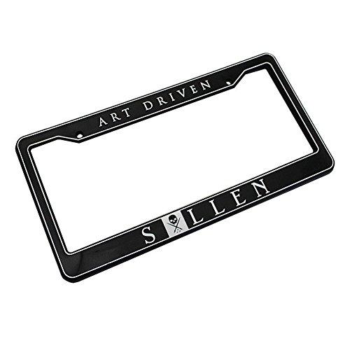 Sullen Unisex Art Driven License Plate Frame Black