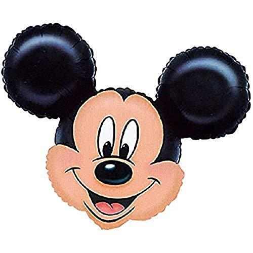 Anagram-34044 Globo de helio de Mickey Mouse, Multicolor (0776401)