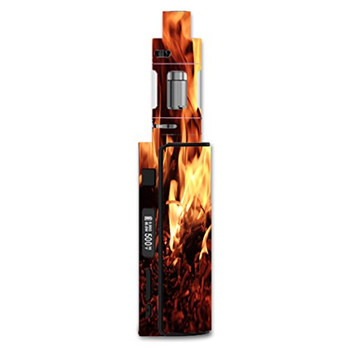 Decal Sticker Skin WRAP Flaming Embers Decal Sticker NOT an Actual Vape for Eleaf iStick 60W TC Melo 2
