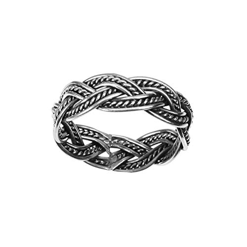 Sterling Silver Celtic Weave Ring (7)