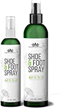 Shoe Deodorizer - Odor Eaters for Shoes - Essential Oil - Next Day Odor Eliminator for Work Boots - Tea Tree Smell Good - Air Freshener Spray - Shoe Odor Eliminator (Mint) (2 Bottles)