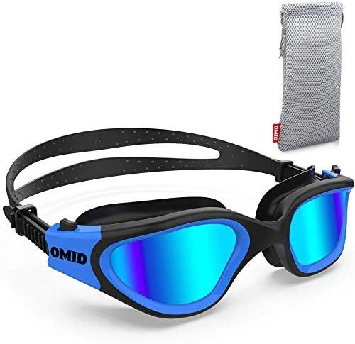 Swim Goggles OMID Comfortable Polarized Swimming Goggles Anti Fog Leak Proof UV Protection Crystal product image