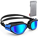 Swim Goggles, OMID Comfortable Polarized Swimming Goggles,...