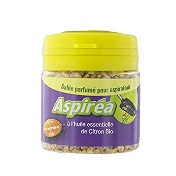 Aspiréa Sable Parfumé pour Aspirateur 60 g - Citron