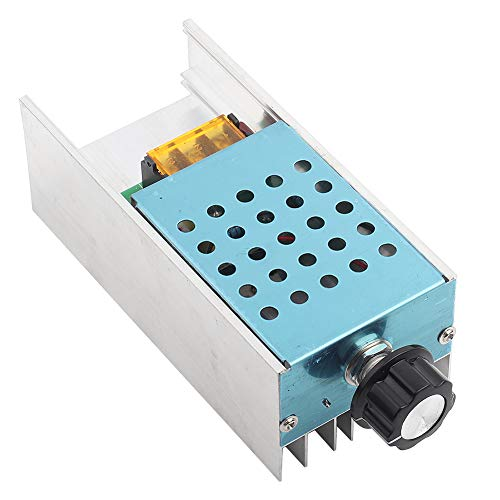 Tonysa AC 220V 6000W Controlador de Voltaje, SCR Controlador de Temperatura de...