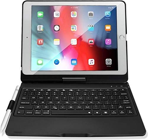 Dux Ducis - Case for Apple iPad 10.2 2019/2020 - Bluetooth Keyboard Cover - Black