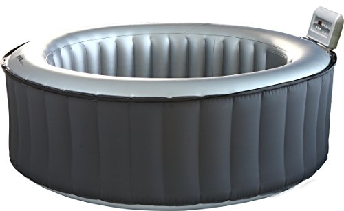 MSPA Lite Silver Cloud Relaxation and Hydrotherapy Spa Round 4 Person M-011LS