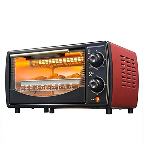 LFDHSF Brotbackautomaten, Haushalts-Elektroofen, Mini Portable Backen One Pull Net Bracket Elektroofen Pizza Frühstücksbrot Sandwich Elektroofen