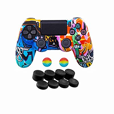 PS4/PS4 Slim/PS4 Pro Controller Protective Cover Rubber Case