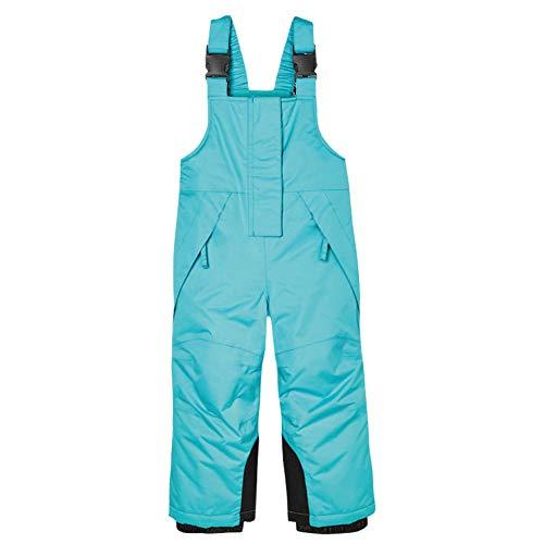 HXSKI Unisex Skibroek voor jongens en meisjes, Ski & Sneeuw Bib Overall Outdoor Kinderriemen Skibroek Waterdicht en Winddicht Warm Verdikkende Broek