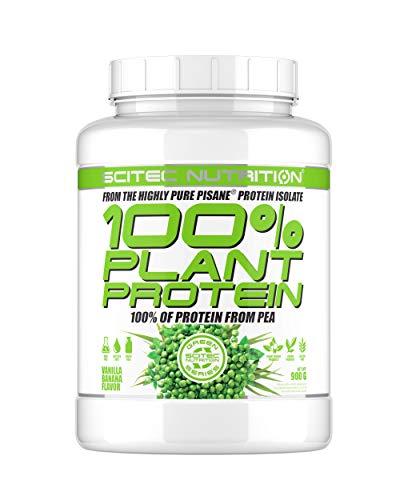 Scitec Nutrition 100% Plant Protien Vainilla Plátano 900 gr