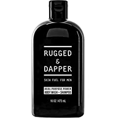 Formulated for Men: Banishes odor, grime and excess oil from head to toe. Designed to provide balanced moisture and replenish essential nutrients to your skin, hair and scalp. Multi-Purpose Benefits: Deeply cleans, deodorizes and revives the entire b...