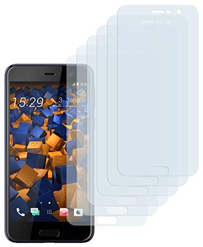 mumbi Schutzfolie kompatibel mit HTC U Play Folie klar, Bildschirmschutzfolie (6X)