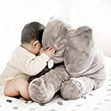almohada plagiocefalia,cojin mimos,almohadas para reflujo,cojin infantil,suave,1pc Almohada de elefante bebé confiable almohada de elefante lindo almohada de elefante divertida para niños