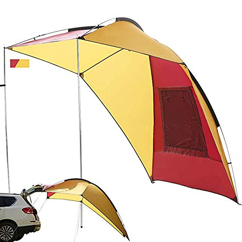 FU LIAN Outdoor Waterproof Car Tent, Car Awning, Large Space Waterproof And Sunscreen Portable Storage Circulation And Ventilation, Suitable for Various Types of Cars