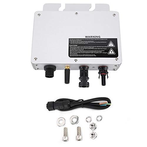 Caredy Micro inversor, IP65 a Prueba de Agua 300 W Micro Grid Tie Inversor Solar Inversor Convertidor de Voltaje 80-160VAC / 180-280VAC
